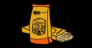 icona pacco di pasta